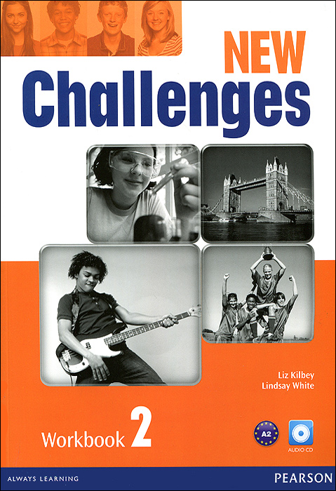 New Challenges: Workbook 2 (+ CD-ROM) Pearson Education Limited