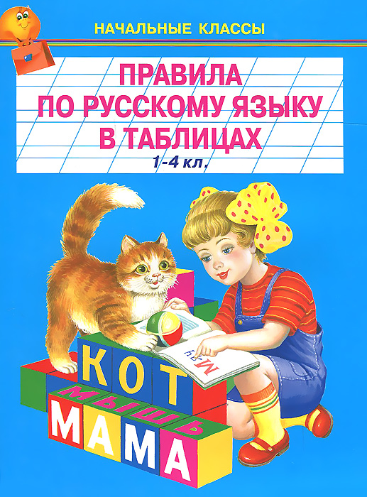 Русский язык. 1-4 классы. Правила в таблицах