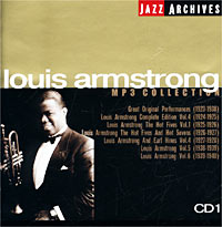 Jazz Archives. Louis Armstrong. CD 1. MP3 Collection. Луи Армстронг