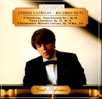 все цены на Андрей Гаврилов P. Tchaikovsky / S. Rachmaninov. Andrei Gavrilov / Ricardo Muti онлайн