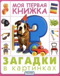 Моя первая книжка. Загадки в картинках. Доставка по России