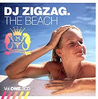 DJ Zigzag DJ Zigzag. The Beach. Vol. One zigzag trim asymmetrical knitwear