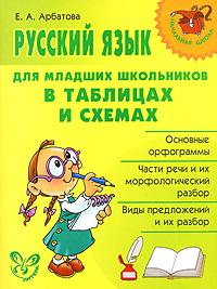 Русский язык для младших школьников в таблицах и схемах. Е. А. Арбатова