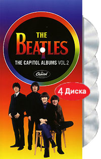 цена на The Beatles The Beatles. The Capitol Albums. Vol. 2 (4 CD)