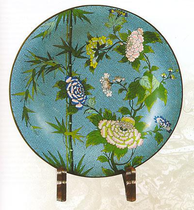 Китайские перегородчатые эмали 15 - первой трети 20 века. М. А. Неглинская