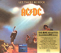 AC/DC AC/DC. Let There Be Rock let there be rock cd