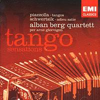 Alban Berg Quartet,Пьер Арне Глорвиген,Алоис Пош Tango Sensations. Alban Berg Quartett. Glorvigen карандаш пош