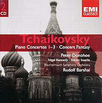 Питер Донохое,Рудольф Баршай,Bournemouth Symphony Orchestra Peter Donohoe, Rudolf Barshai. Tchaikovsky. Piano Concertos Nos. 1-3 (2 CD) four tops bournemouth