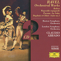 Клаудио Аббадо,Boston Symphony Orchestra,The London Symphony Orchestra Ravel: Orchestral Works. Claudio Abbado (2 CD) mahler debussy abbado lucerne festival orchestra 2 cd