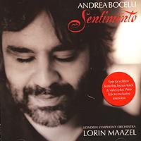 Андреа Бочелли,The London Symphony Orchestra Andrea Bocelli. Sentimento все цены