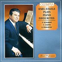 Эмиль Гилельс Emil Gilels Plays Piano Favourites эмиль гилельс леонид коган l beethoven piano and sonatas 3 5 9 emil gilels leonid cogan