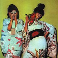 Sparks Sparks. Kimono My House (21st Century Edition) fringe trim floral kimono
