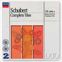 Beaux Arts Trio,The Grumiaux Trio Beaux Arts Trio, Grumiaux Trio. Schubert. Complete Trios (2 CD) bobo stenson trio serenity 2 cd