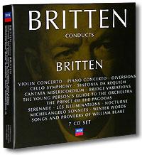 Benjamin Britten. Conducts Britten (7 CD) benjamin britten conducts britten 7 cd