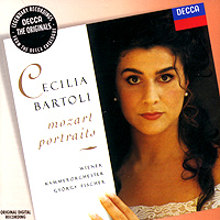 Чечилия Бартоли Cecilia Bartoli. Mozart Portraits чечилия бартоли cecilia bartoli se tu m ami arie antiche