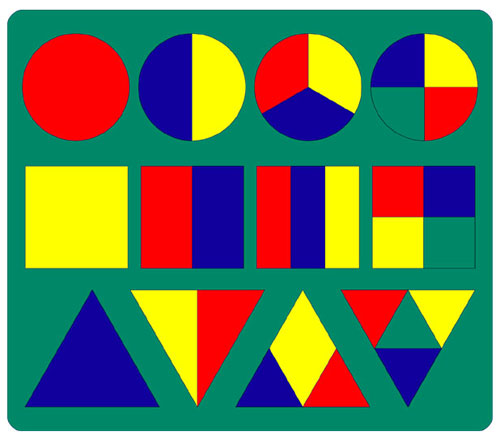 Геометрия мягкая мозаика цвет зеленый .
