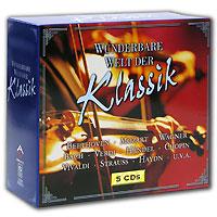 Фото - Wunderbare Welt Der Klassik (5 CD) klassik highlights in classic 4 cd