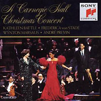 Фото - Orchestra Of St. Luke's,Андрэ Превен Andre Previn. A Carnegie Hall Christmas Concert андрэ превен лилиан уотсон делиа уоллис the finchley children s music group the london symphony orchestra колин ховард andre previn mendelssohn a midsummer night s dream