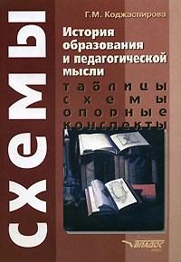 Г. М. Коджаспирова История образования и педагогической мысли. Таблицы, схемы, опорные конспекты