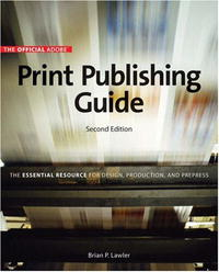 Official Adobe Print Publishing Guide подвесной светильник ideal lux minimal sp1 oro