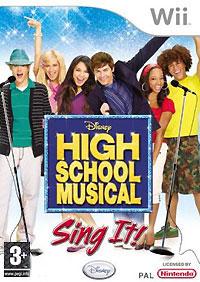 High School Musical: Sing It! (Wii) + микрофон