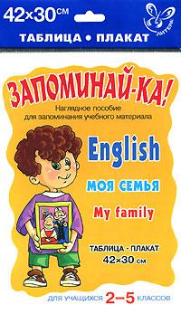 English. My Family / Моя семья. Для учащихся 2-5 классов 0x0