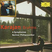 Герберт Караян,Berliner Philharmoniker Karajan. Brahms. 4 Symphonies (2 CD) цена и фото