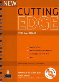 New Cutting Edge Intermediate: Teacher's Book (+ CD-ROM) market leader upper intermediate teacher s resource book and test master cd rom