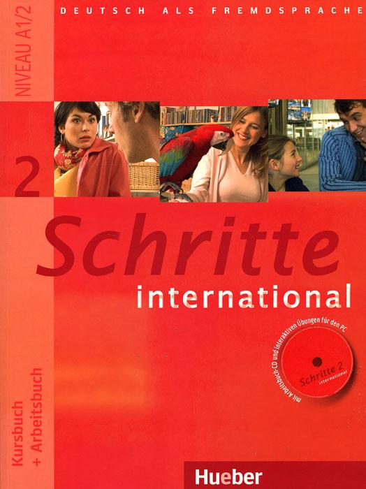 Schritte International 2: Kursbuch + Arbeitsbuch (+ CD) planet 2 kursbuch deutsch fur jugendliche