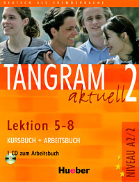 Tangram aktuell 2 - Lektion 5-8. Kursbuch + Arbeitsbuch (+ CD) planet 2 kursbuch deutsch fur jugendliche
