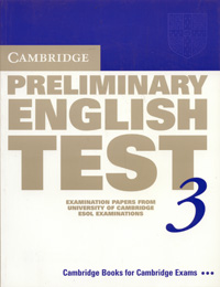 Cambridge Preliminary English Test 3 cambridge preliminary english test 2 student s book