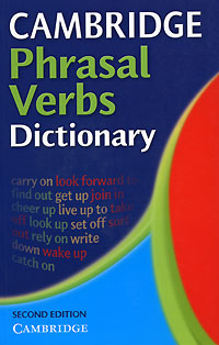 Cambridge Phrasal Verbs Dictionary цена
