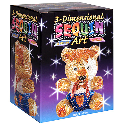 Набор для создания объемной фигуры Медвежонок .
