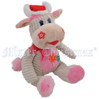 цена на Бычок. Мягкая игрушка, цвет: бежевый/розовый, 29 см