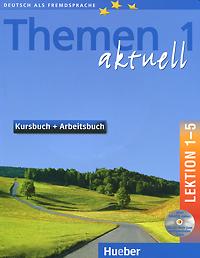 лучшая цена Themen aktuell 1: Kursbuch + arbeitsbuch: Lektion 1-5 (+ 2 CD-ROM)