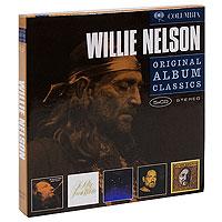 Фото - Уилли Нельсон Willie Nelson. Original Album Classics (5 CD) уилли нельсон willie nelson last man standing lp