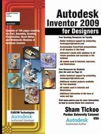 Autodesk Inventor 2009 for Designers folding techniques for designers from sheet to form cd rom