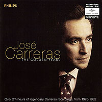 Хосе Каррерас,English Chamber Orchestra,Эдоардо Мюллер,Chorus And Orchestra Of The Royal Opera House,Колин Доус Jose Carreras. The Golden Years (2 CD)