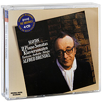 Альфред Брендель Alfred Brendel. Haydn. 11 Piano Sonatas (4 CD) альфред брендель alfred brendel schubert piano sonatas nos 9 18 20