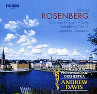 цены на Andrew Davis. Rosenberg. Orpheus In Town / Symphony No. 3 / Louisville Concerto  в интернет-магазинах