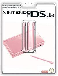 Стилус для Nintendo DS Lite (розовый) 3 шт. геймпад nintendo switch pro controller