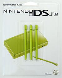 Стилус для Nintendo DS Lite зеленого цвета (комплект из 3 шт.) геймпад nintendo switch pro controller