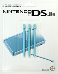Стилус для Nintendo DS Lite бирюзового цвета (комплект из 3 шт.) геймпад nintendo switch pro controller