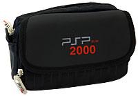купить Многофункциональная cумка для приставки PSP/PSP 2000 и аксессуаров (черная) по цене 232 рублей