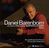 Дэниэл Баренбойм Daniel Barenboim. Bach. The Well-Tempered Clavier, Book I (2 CD) дэниэл баренбойм daniel barenboim liszt wagner transcriptions lp