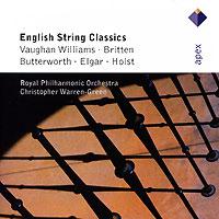 лучшая цена The Royal Philharmonic Orchestra,Кристофер Уоррен-Грин Christopher Warren-Green. Vaughan Williams / Britten / Elgar / Holst. English String Classics