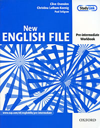 New English File: Workbook. Pre-intermediate | Oxenden Clive, Latham-Koenig Christina