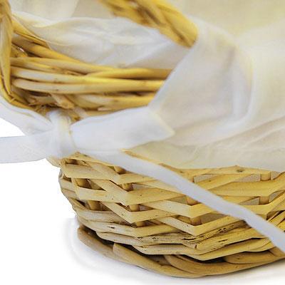 Корзинка для хлеба овальная 28 х 15 см .