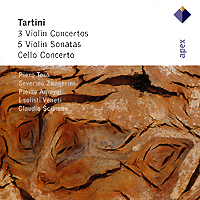 Claudio Scimone. Tartini. 3 Violin Concertos / Cello Concerto / 5 Violin Sonatas (2 CD) pinchas zukerman brahms the violin sonatas the viola sonatas 2 cd