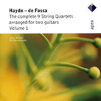 все цены на Джукка Савджоки,Эрик Стенстадвольт Jukka Savijoki, Erik Stenstadvold. Haydn / De Fossa. String Quartets Arranged For Two Guitars, Vol. 1 онлайн
